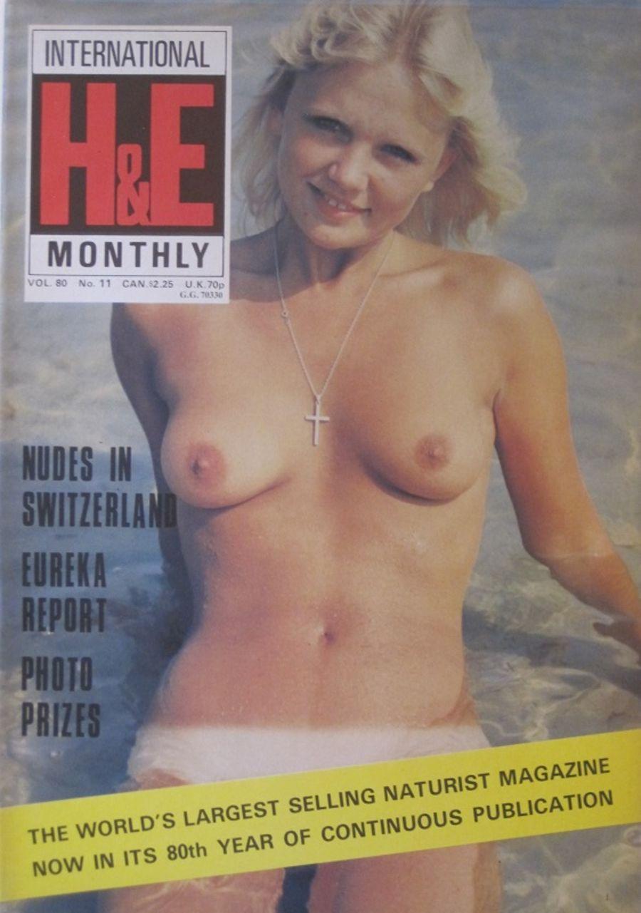 HEALTH & EFFICIENCY MONTHLY Vol. 80 No. 11. Vintage Naturist Magazine.  DM10070.