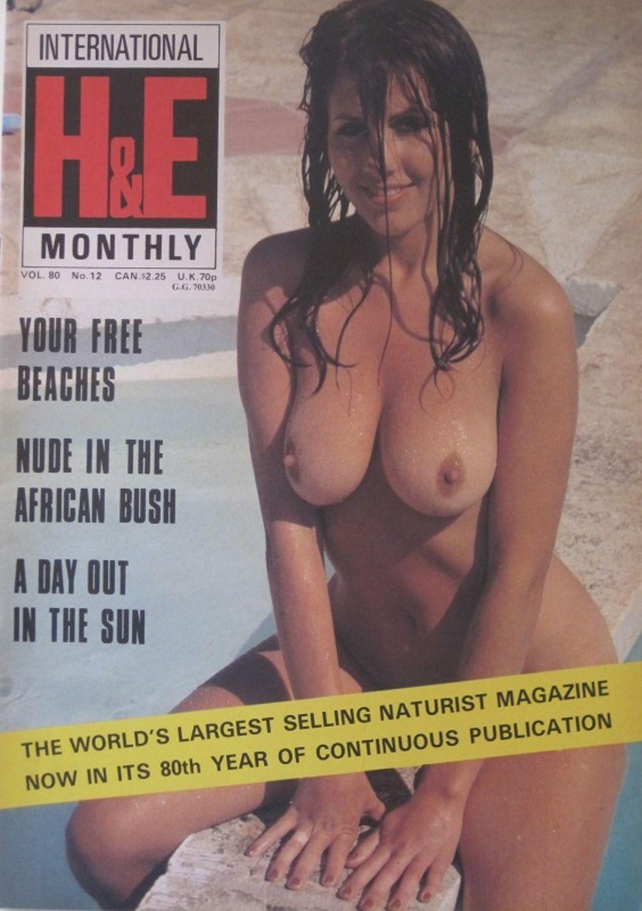 HEALTH & EFFICIENCY MONTHLY Vol. 80 No. 12. Vintage Naturist Magazine.  DM10071.