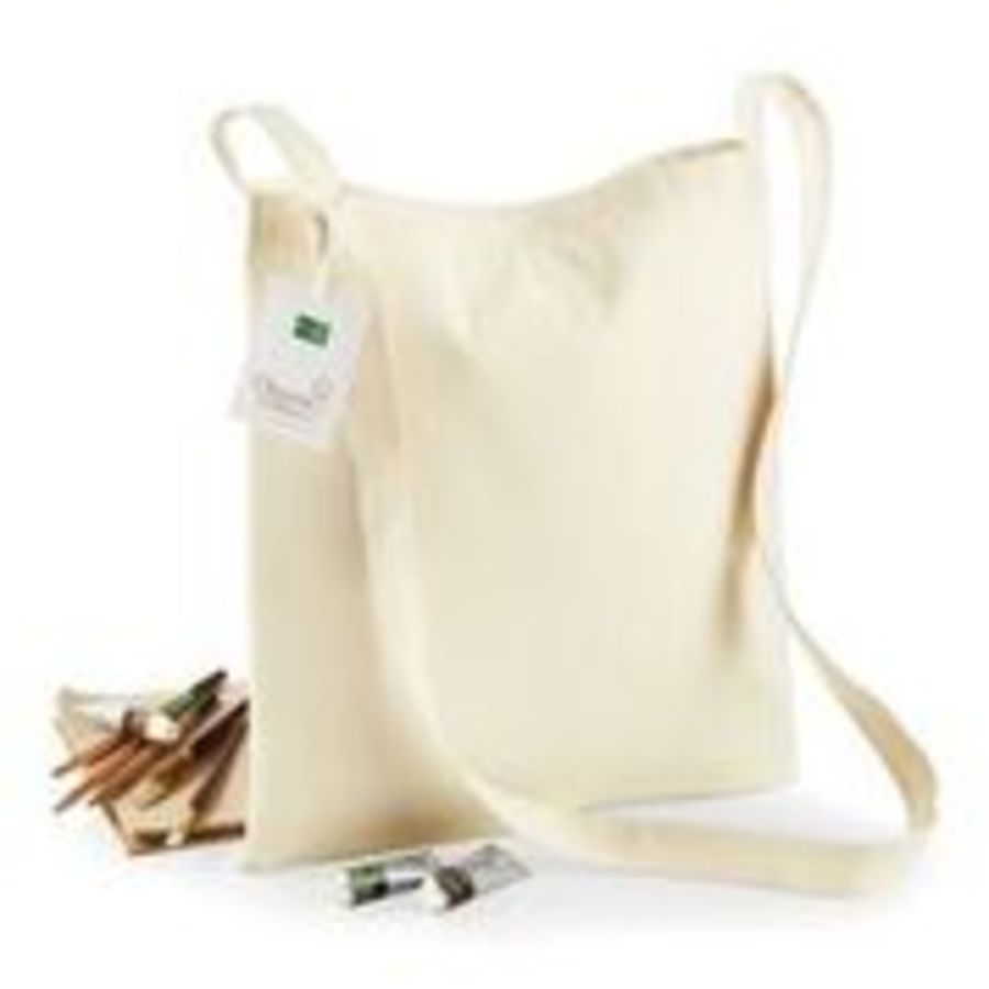 WM187 Organic cotton sling tote