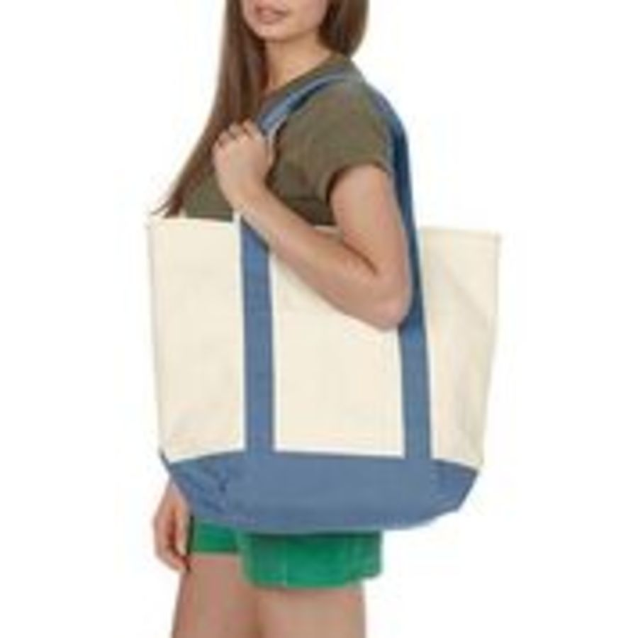 CO080   FOR THE BEACH  Canvas heavy tote
