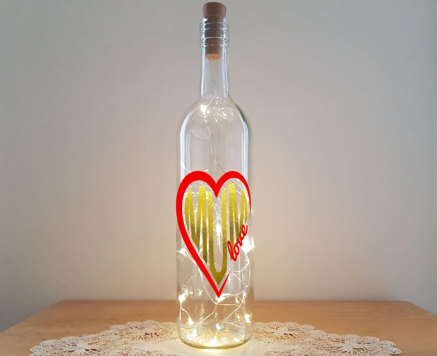 Mum Love Bottle Light Kit