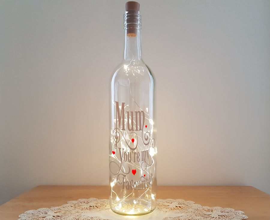 Mum You're my favourite - Bottle Light Kit