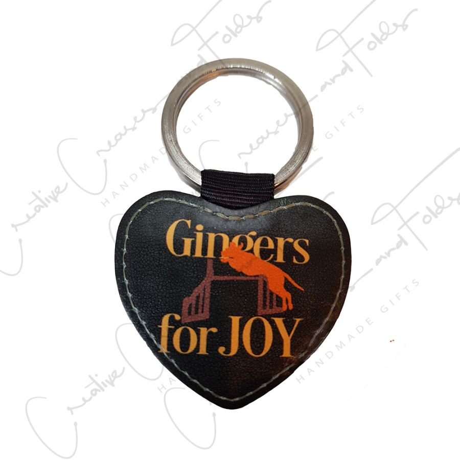 Gingers Jump for Joy Keyring