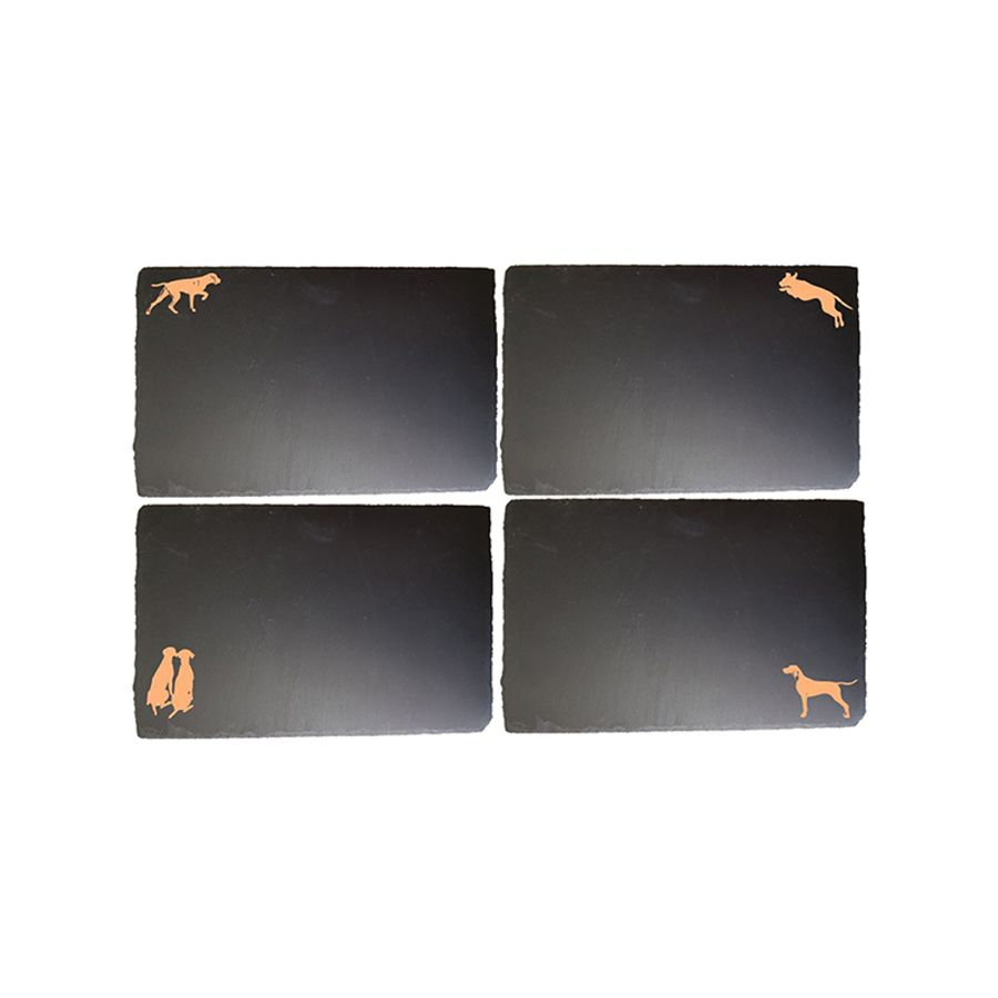 Gilded Slate Placemats
