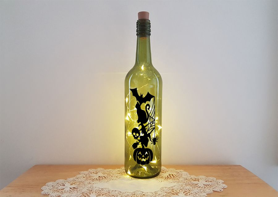 Halloween Totem Bottle Light Kit