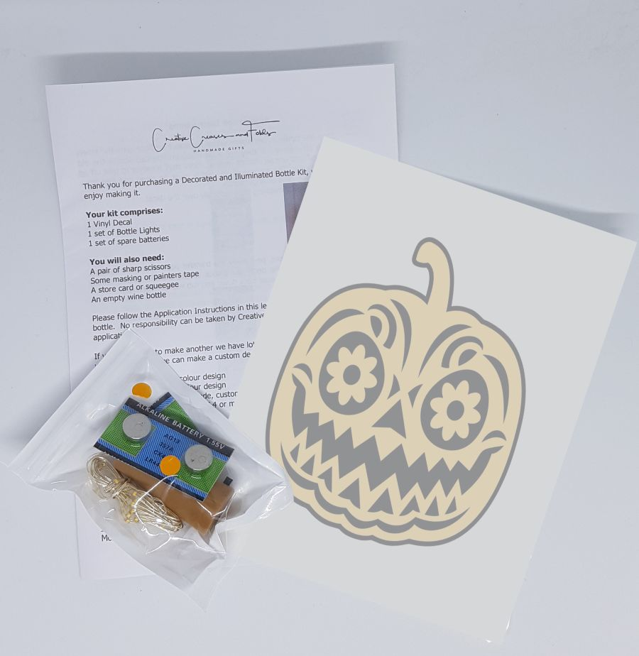 Pumpkin Bottle Light Kit