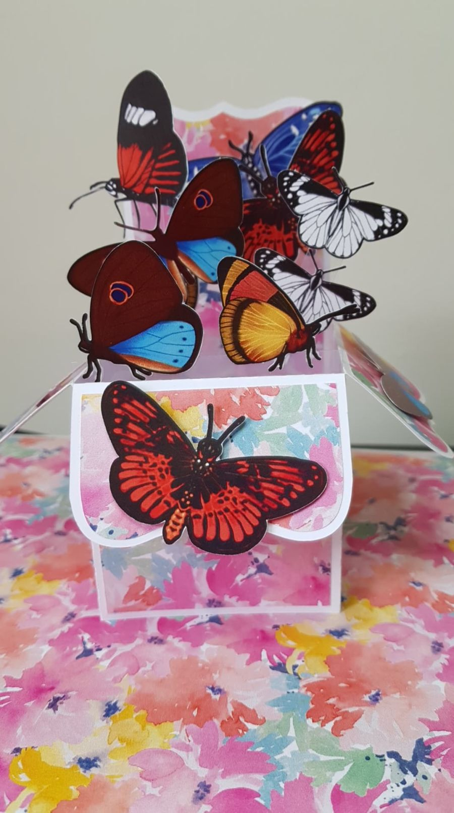 Butterfly Seed Card