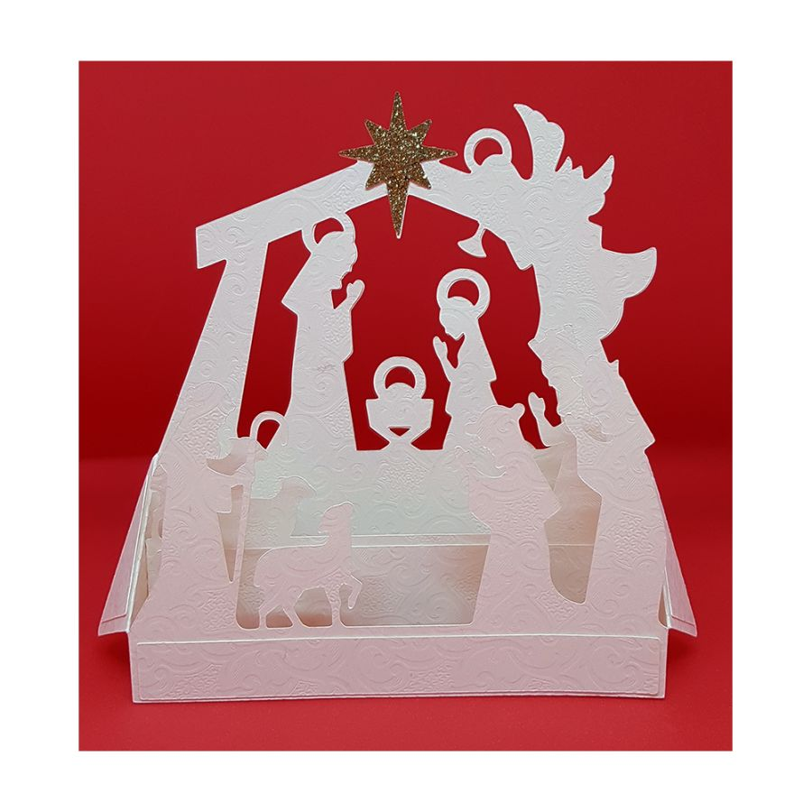 Nativity Scene Box Card