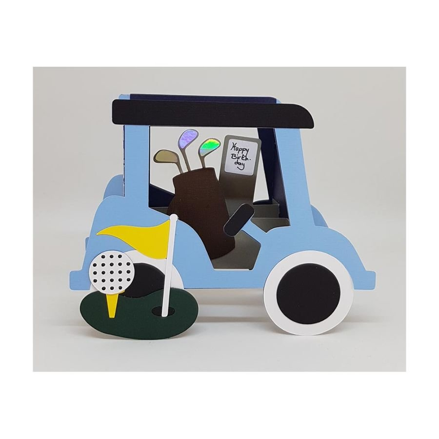 Golf Buggy Box Card