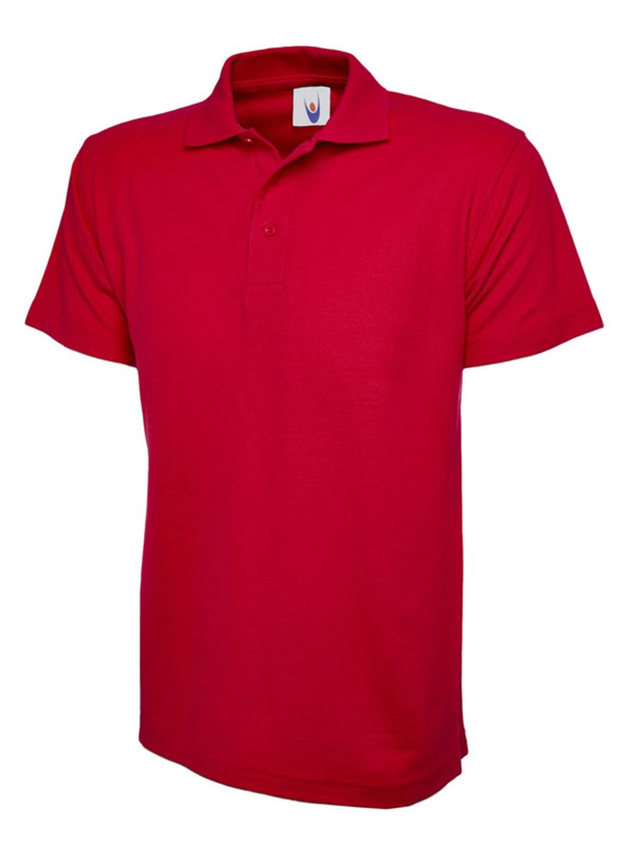 Children's Polo Shirt - Red