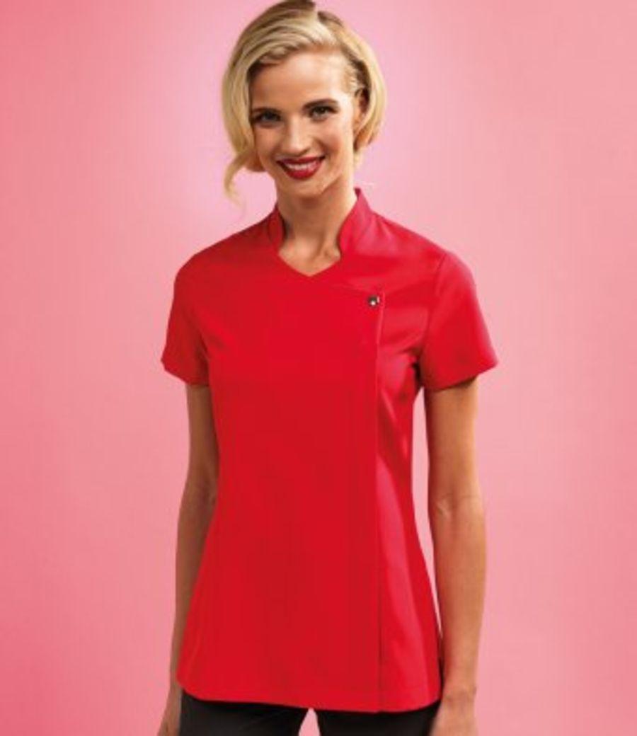 Premier - Ladies Blossom Short Sleeve Tunic