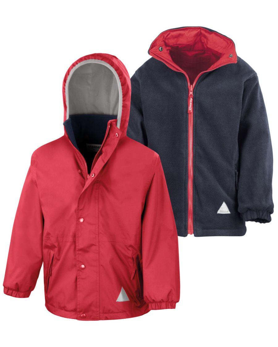 R160JY Children's Reversible StormDri 4000 Fleece Jacket