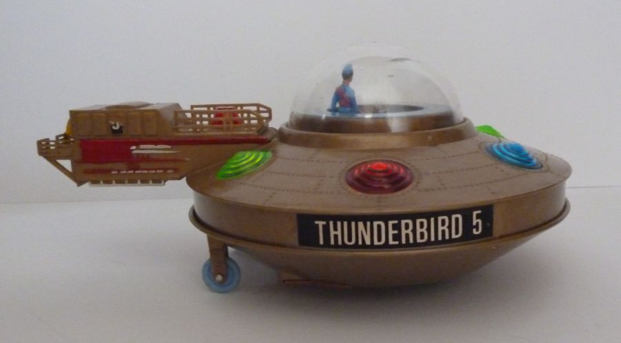 Gerry Anderson Thunderbirds JR21 Toy Thunderbird 5 Fully Working 1965