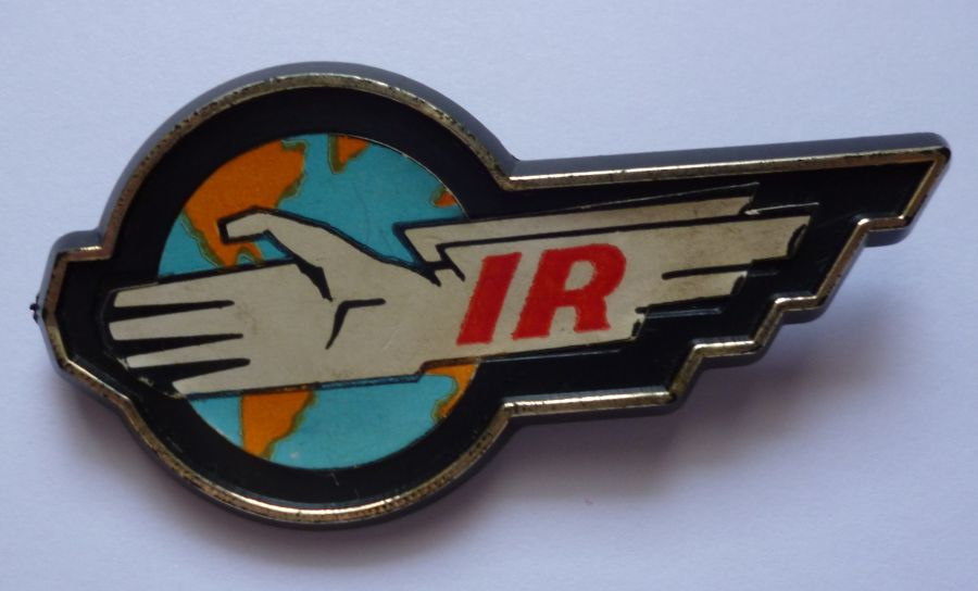 Gerry Anderson Thunderbirds 1966 International Rescue Plastoid Pin Badge