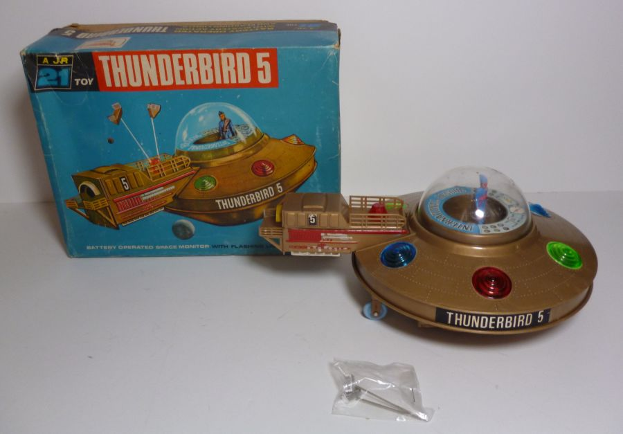 Gerry Anderson A JR 21 Toy Thunderbird 5 Fully Working 1965 With Original Box