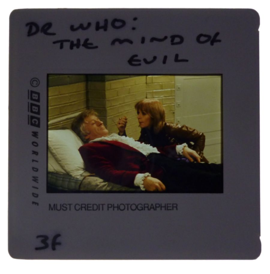 Doctor Who BBC 35mm Colour Publicity Slide Jon Pertwee The Mind of Evil