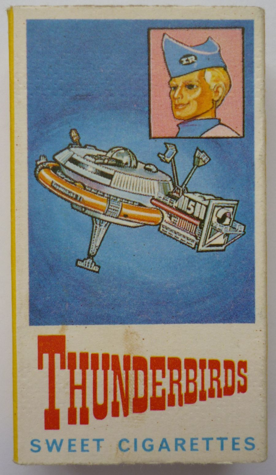 1965 Thunderbirds Gerry Anderson Thunderbird 5 Fab 1 Barratt Sweet Cigarette Box