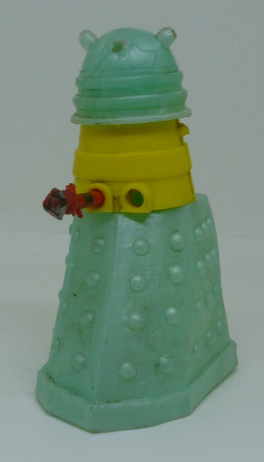 1965 Classic Doctor Who Cherilea Swappit Turquoise Green Dalek