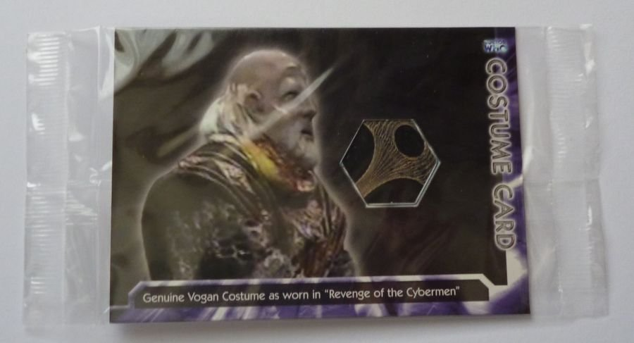 Doctor Who Strictly Ink Vogan Costume Trading Card WHOT-C4 Sealed Prop