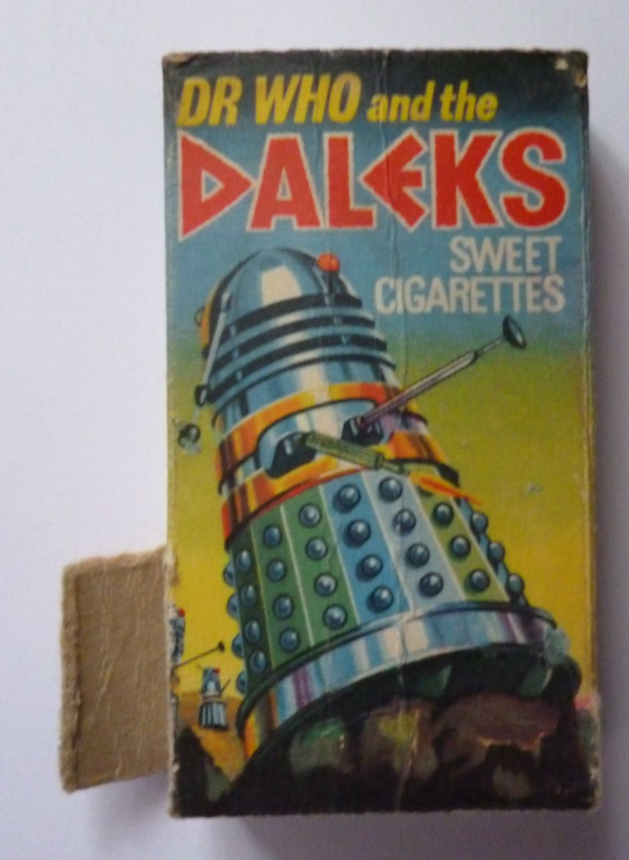Dr Who And The Daleks Cadet Sweet Cigarette Box 1964 Packet