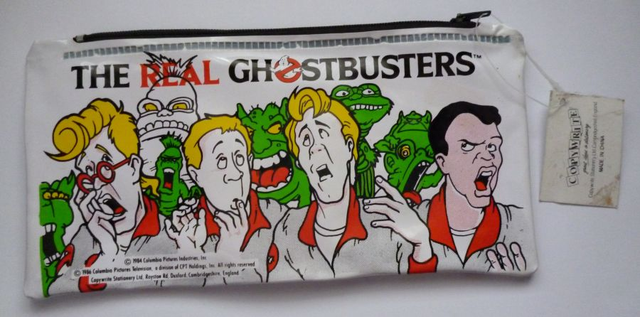 Original The Real Ghostbusters 1986 Pencil Case Brand New Never Used