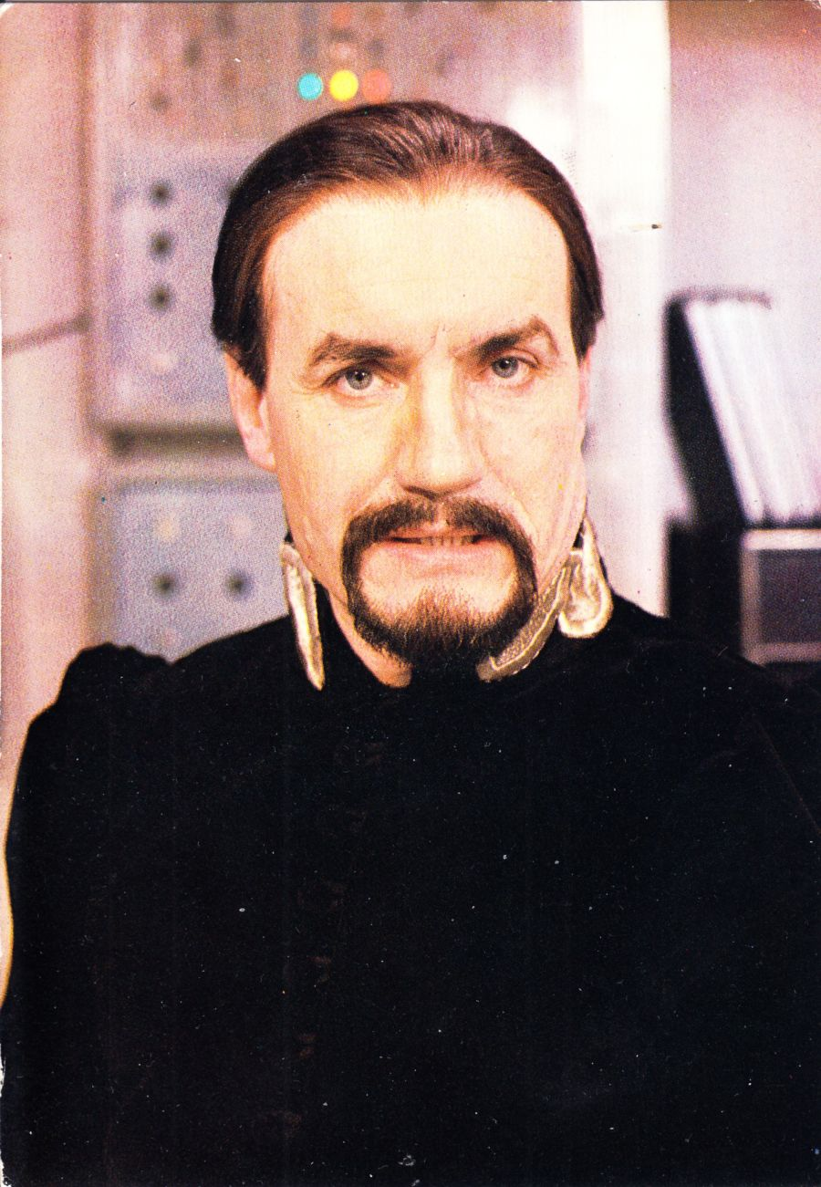 Anthony Ainley Signed The Master BBC Official Doctor Who Autograph Postcard