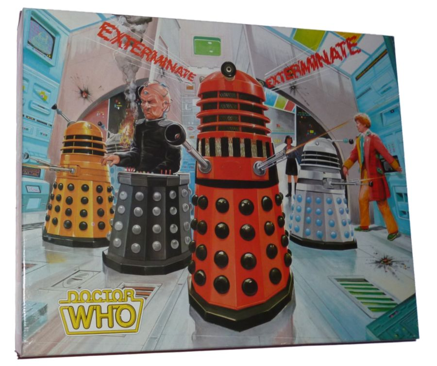 Vintage Doctor Who 6th Dr Colin Baker 200 pc Jigsaw Puzzle 1984 Still Sealed