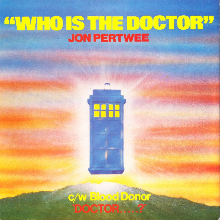 Jon Pertwee Who Is The Doctor Rare Dr Doctor Who UK 7inch Single 1985