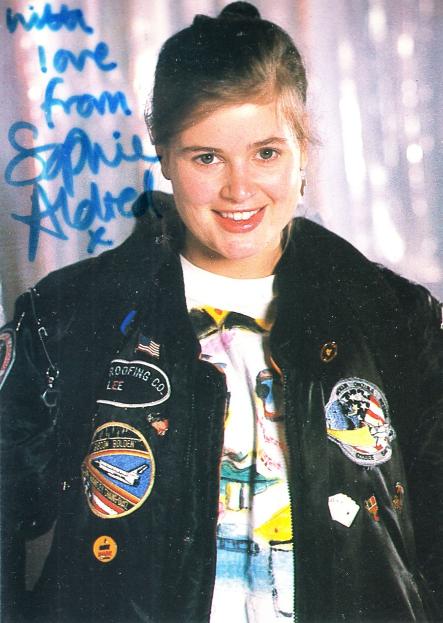 Sophie Aldred Signed Ace BBC Official Doctor Who Autograph Cast Postcard