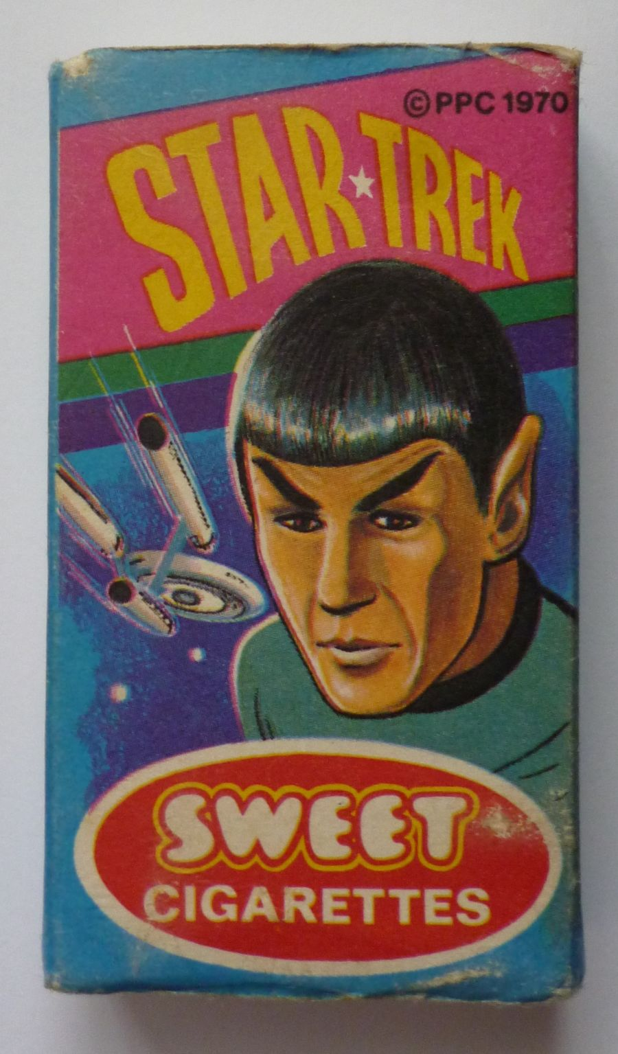 Star Trek Primrose Sweet Cigarette Box 1970 Packet