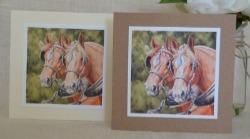 Suffolk Punches and other horse cards