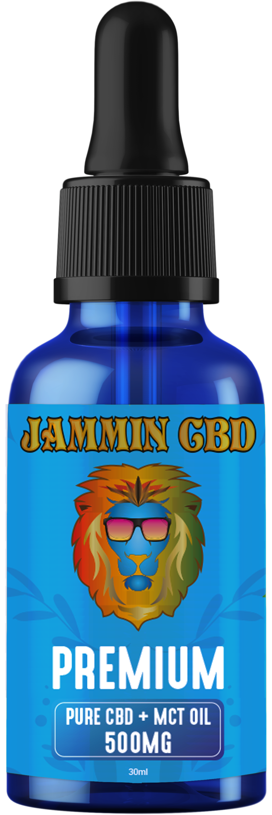 Jammin CBD Premium CBD Oil + MCT 30ml 500mg