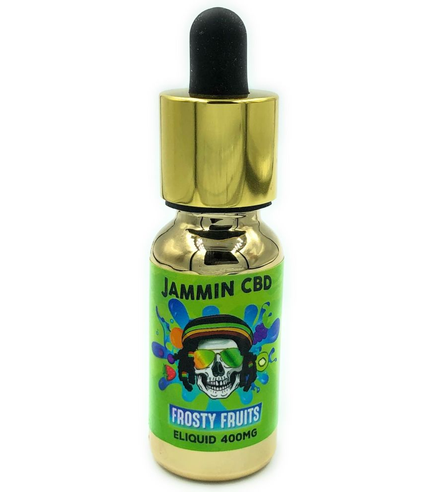 Jammin CBD Frosty Fruits Vape E Liquid Oil 400mg 20ml