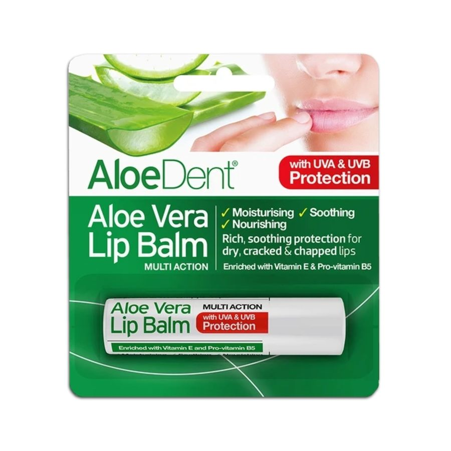 Aloe Dent Aloe Vera Lip Balm Multi Action 4g