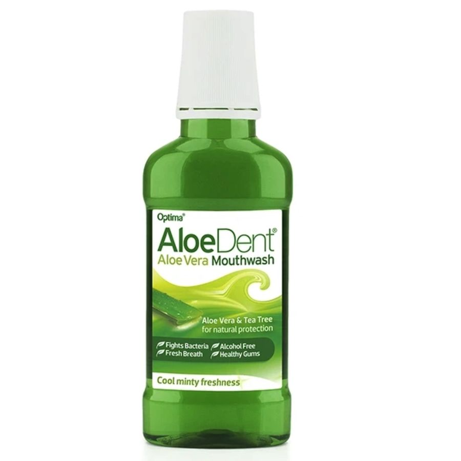 Aloe Dent Mouthwash Aloe Vera & Tea Tree 250mls