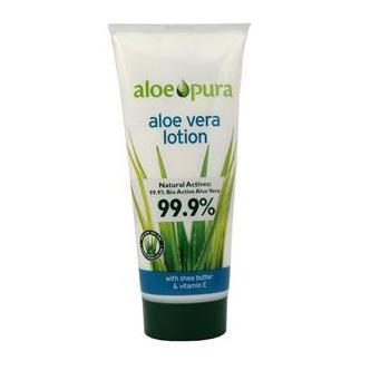 Aloe Pura Organic Aloe Vera Lotion Shea Butter & Vitamin E