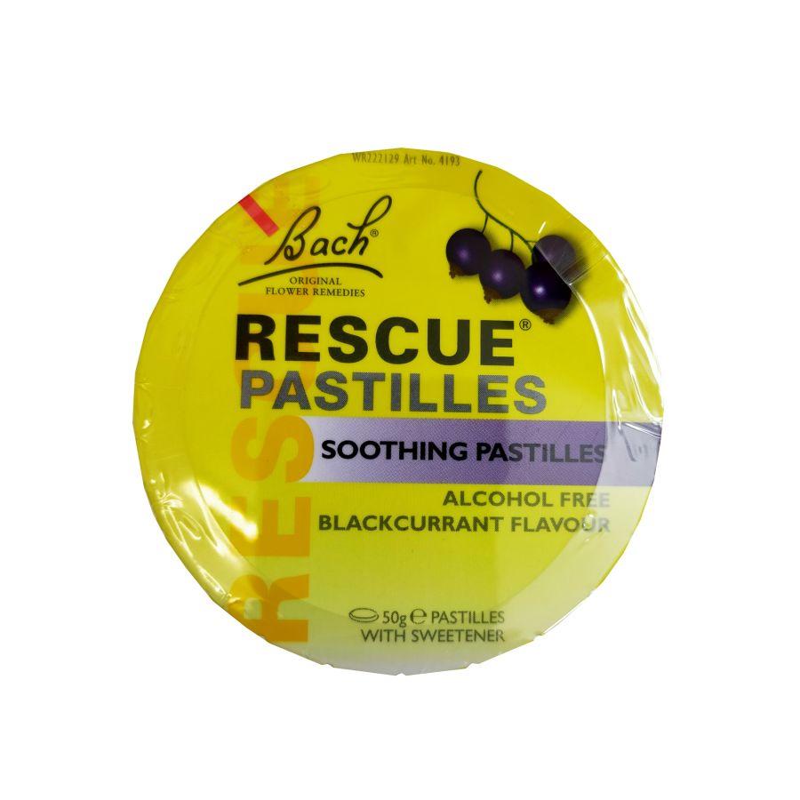 Bach Rescue Pastilles - Blackcurrant 50g