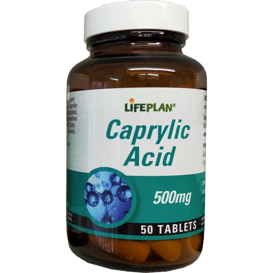 Lifeplan Caprylic Acid 50 tablets