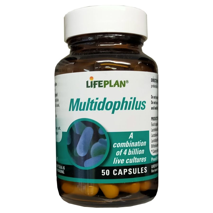 Lifeplan Multidophilus 50 capsules