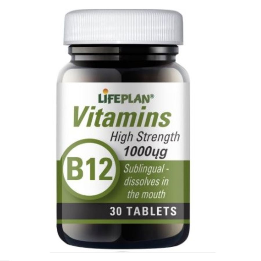 Lifeplan Vitamin B12 1000ug