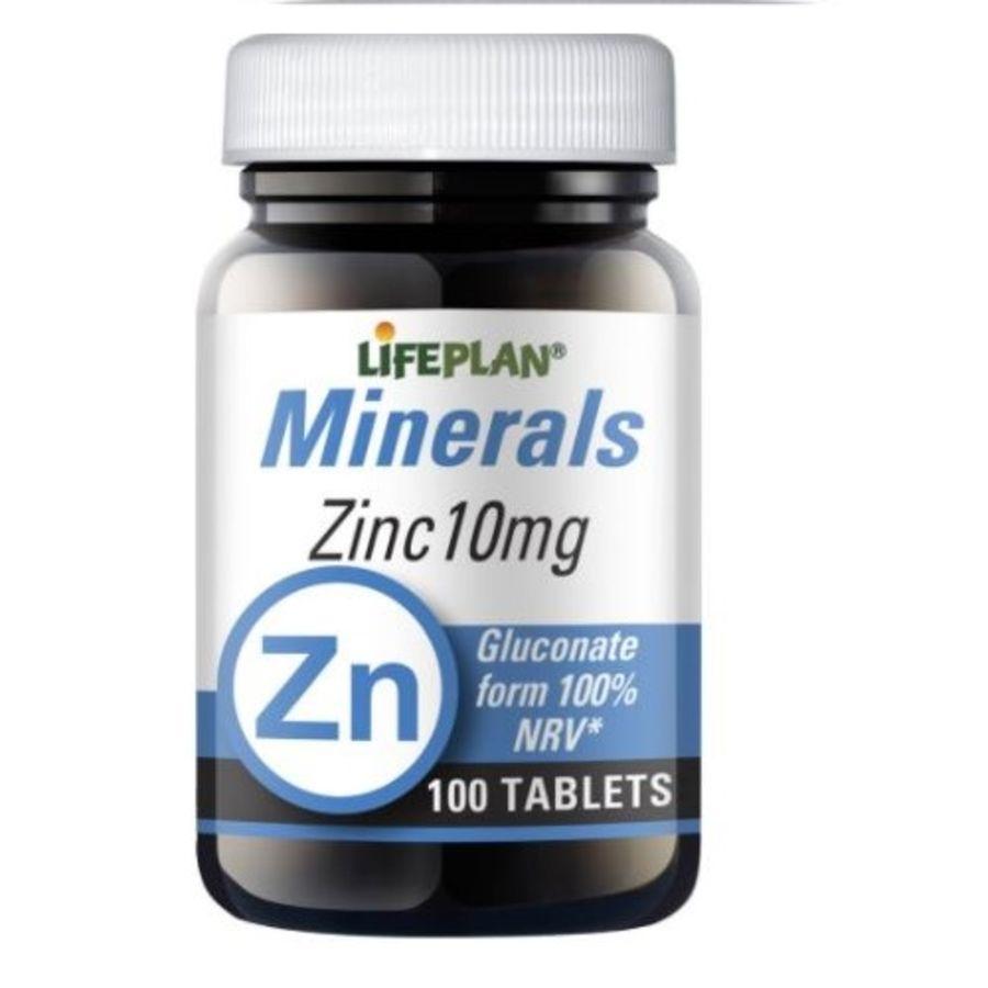 Lifeplan Zinc (Gluconate) 10mg 100 tablets