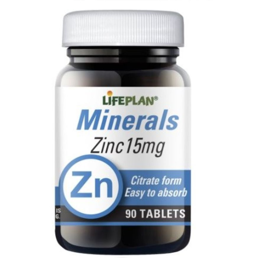 Lifeplan Zinc Citrate 15mg 270 tablets