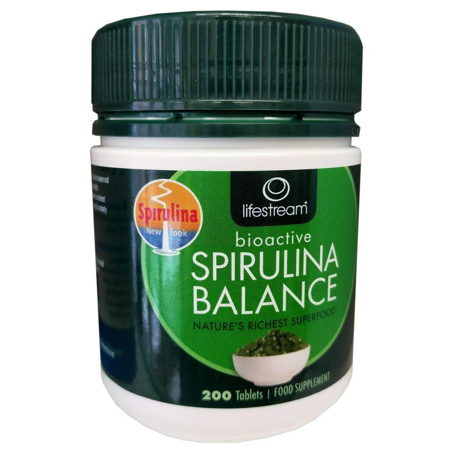 Lifestream Bioactive Spirulina Balance 200 tablets