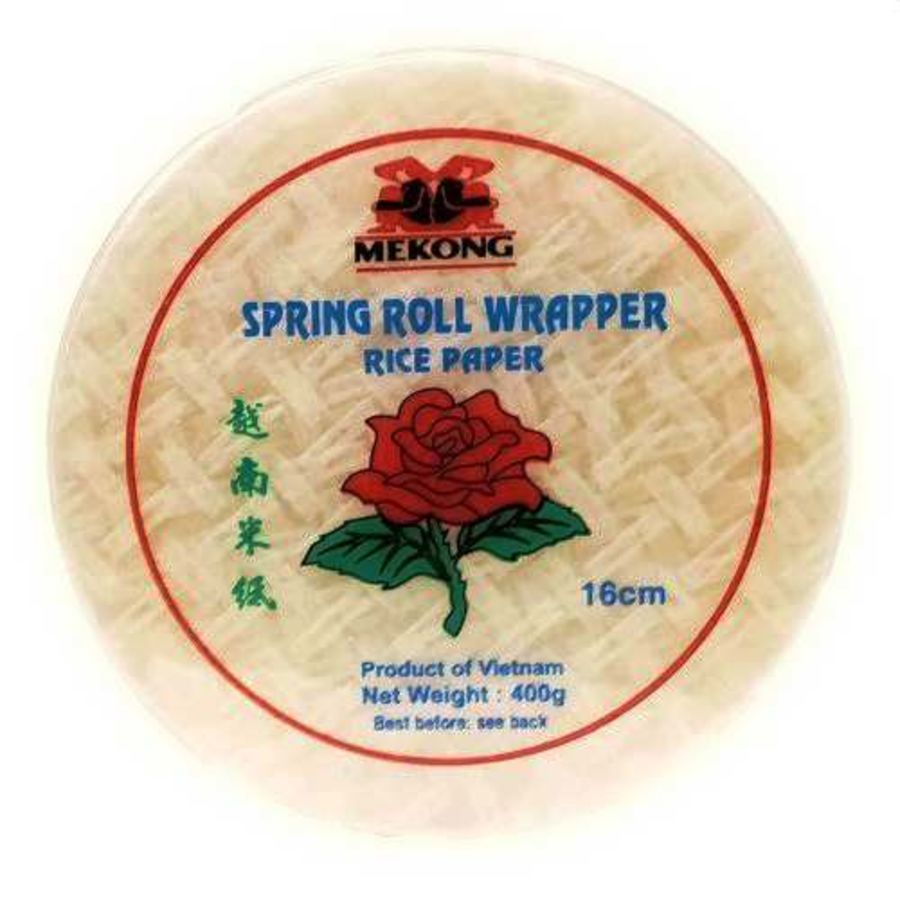 Mekong Spring Roll Wrappers 16cm 400g