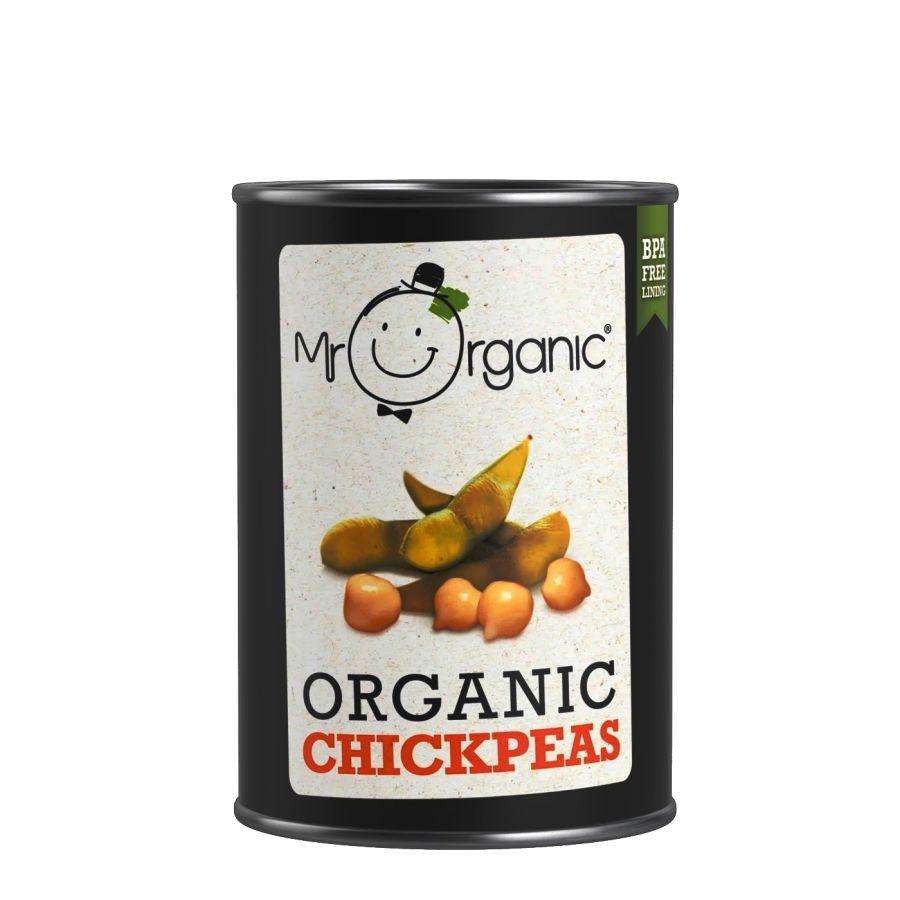 Mr Organic Chickpeas 400g