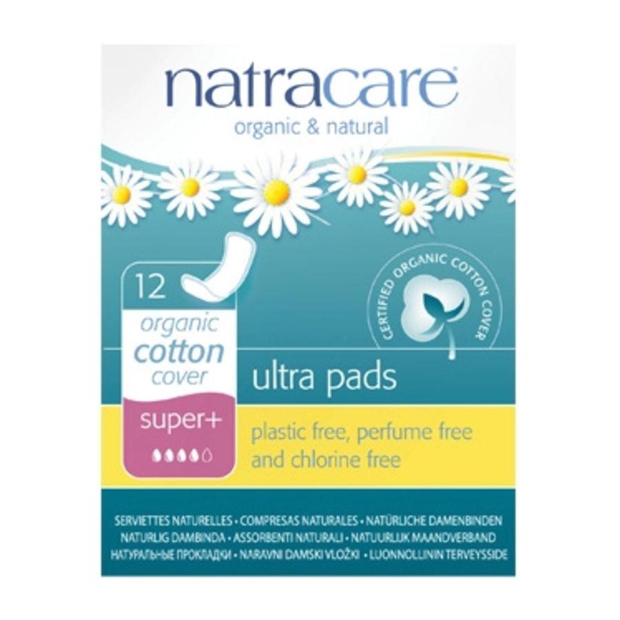 Natracare 12 Ultra Super Plus Period Pads