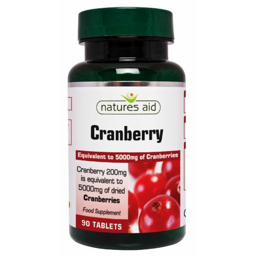 Natures Aid Cranberry 30 tablets