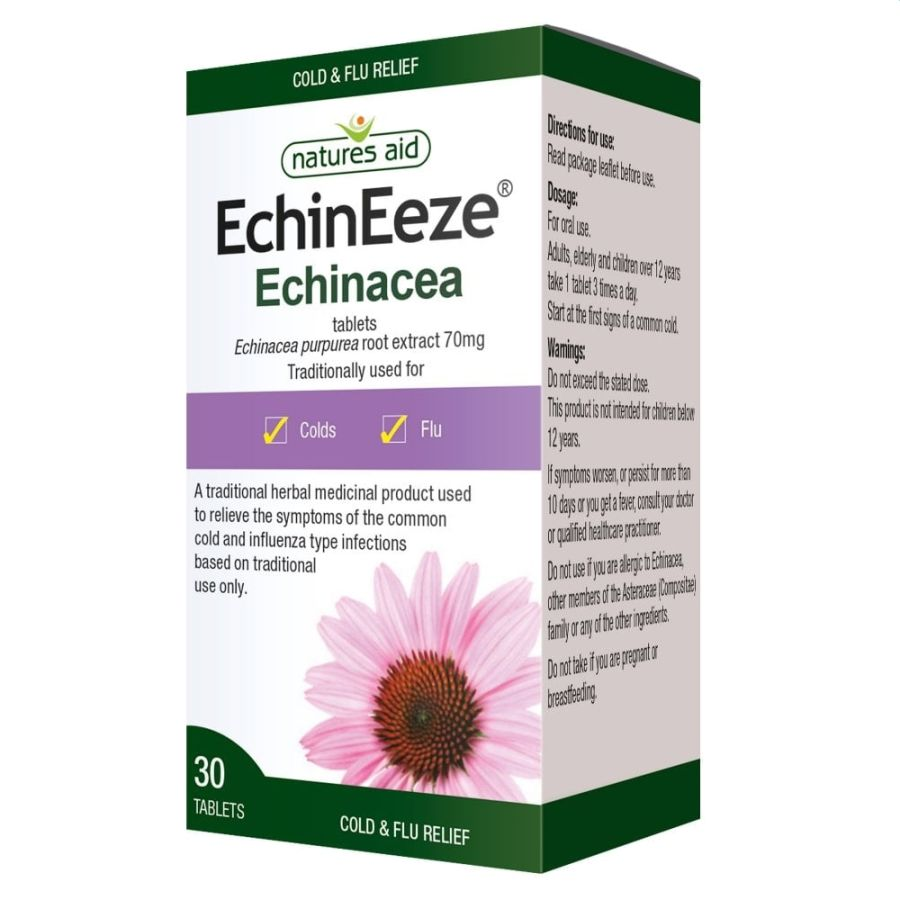 Natures Aid EchinEeze 70mg 90 tablets