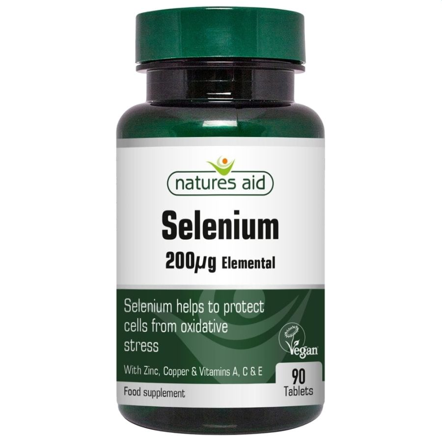 Natures Aid Selenium 200ug