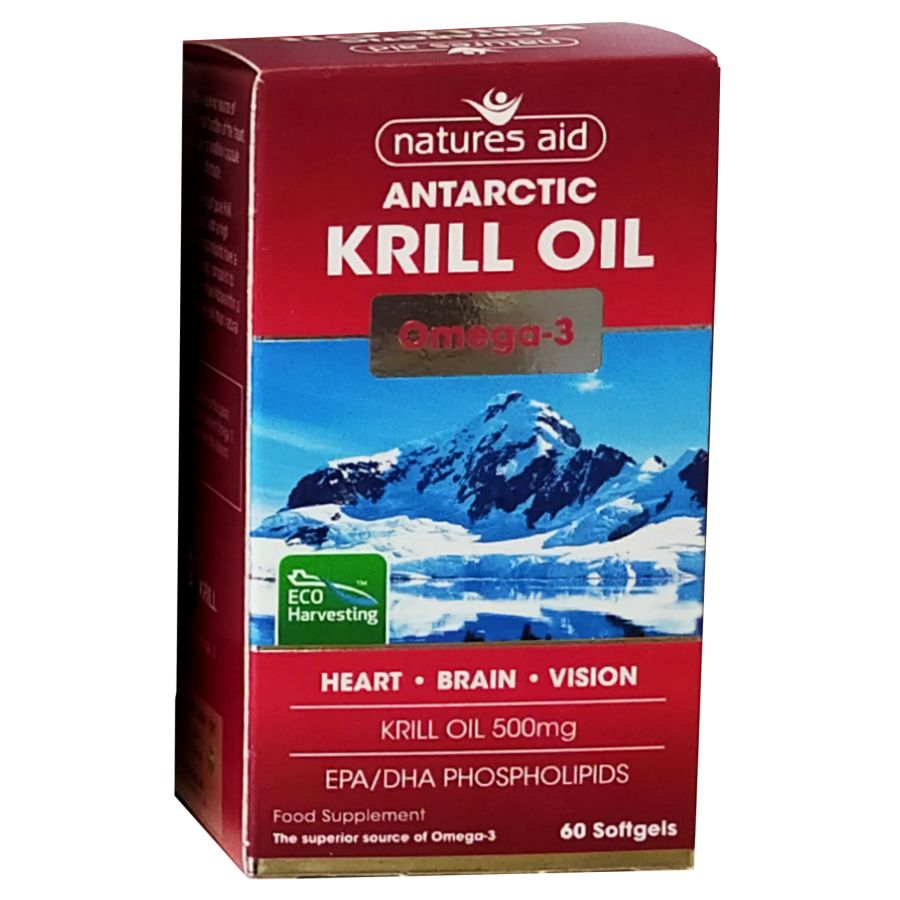 Natures Aid Suberba Krill Oil 500mg 60 softgels
